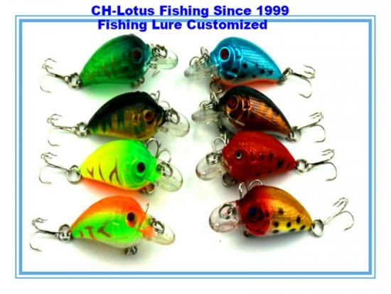 fishing lure attracting