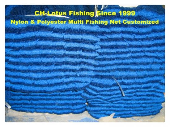 nylon or polyester multi fishing net fish net