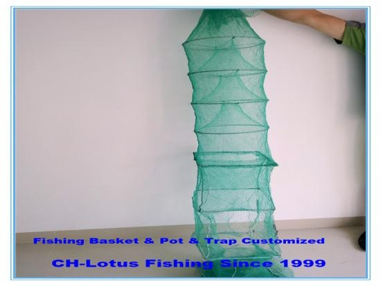 High quality fishing trap or basket or pot customized -CH-Lotus Fishing