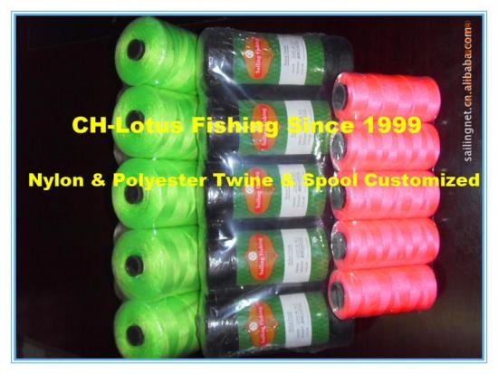 nylon or polyester multi fishing twine or spool