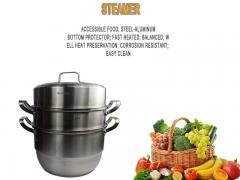 multipurpose thickness induction bottom household steamer pot