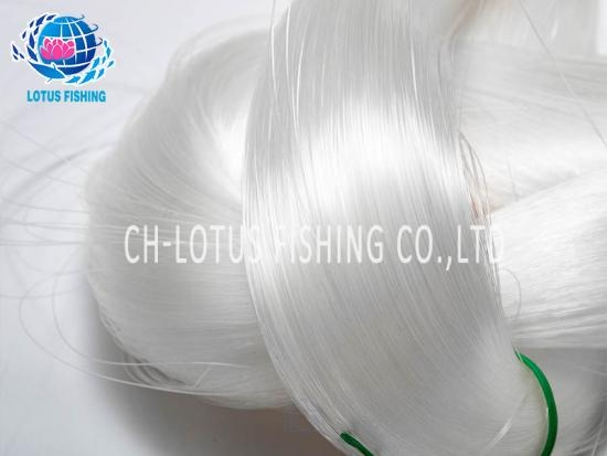 Transparent nylon fishing lines