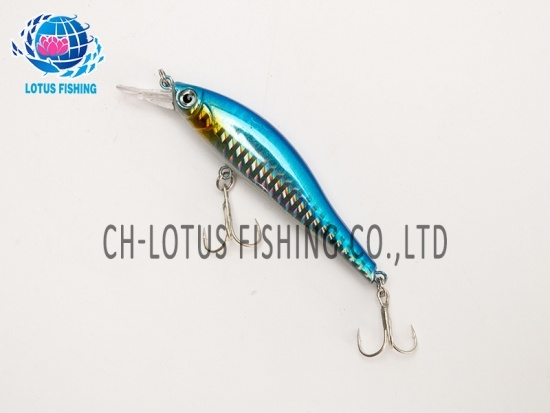 Fishing lure hard bait minnow set 6cm 6.7g small crankbait sinking wobblers hook lures