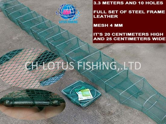 Special folding Fish Cage Thickened and durable Traps Crab Cages -CH-Lotus Fishing